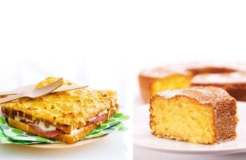 au menu : Croque Monsieur et gâteau au yaourt